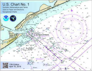 thumbnail for CHART NO. 1 Nautical chart symbols and terms