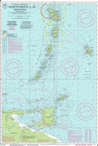 thumbnail for chart Martinique to Trinidad Passage Chart