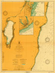 thumbnail for chart WI,1916,Lake Michigan Kewaunee Port