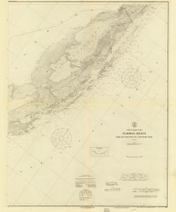 thumbnail for chart FL,1919,Florida Reefs From Biscayne Carysfort