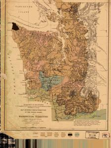 thumbnail for chart WA,1876,Indian Tribues of Washington Territory