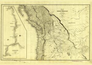 thumbnail for chart WA,1841,Map Of The Oregon Territory