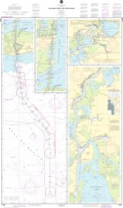 thumbnail for chart Calcasieu River and Approaches