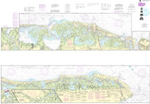 thumbnail for chart Intracoastal Waterway Little Egg Harbor to Cape May;Atlantic City