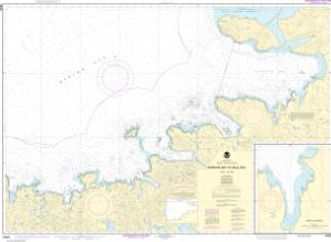 thumbnail for chart Korovin Bay to Wall Bay-Atka Island;Martin Harbor