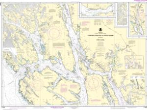 thumbnail for chart Stephens Passage to Cross Sound, including Lynn Canal