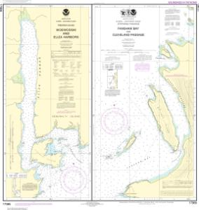 thumbnail for chart Woewodski and Eliza Hbrs.;Fanshaw Bay and Cleveland Passage
