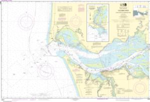thumbnail for chart Columbia River Pacific Ocean to Harrington Point;Ilwaco Harbor