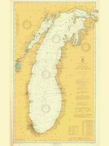 thumbnail for chart IL,1919,General Chart of Lake Michigan