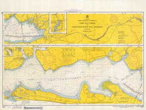 thumbnail for chart FL,1967,West Bay Creek to Choctawhatchee Bay Ent