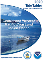2018 Tide Table - Central and Western Pacific Ocean and Indian Ocean